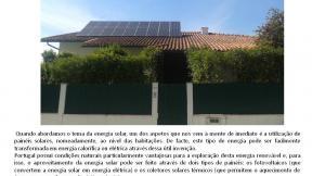 A utilização da energia solar em Leiria
