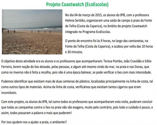 Reportagem Coastwatch