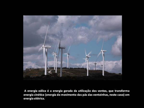 Energias limpas para o planeta sorrir