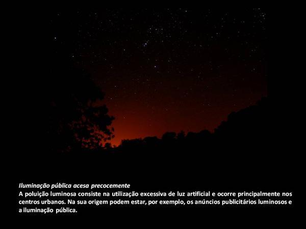 Desligar as luzes, ligar às estrelas